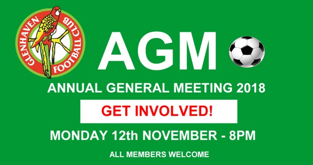GLENHAVENFC AGM 2018