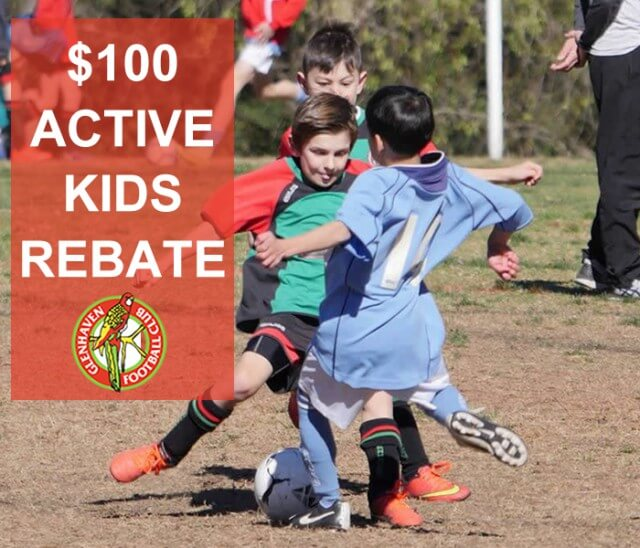 GLENHAVENFC $100 ACTIVE KIDS REBATE